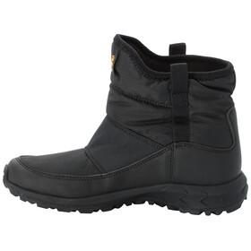 Jack Wolfskin Woodland Texapore WT Chaussures Mi-Hautes Enfant, black/burly yellow XT
